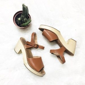 Urban Outfitters Wooden Sandal
